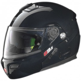 Grex G9.1 Modular[021] Motorcycle Helmet Evolve Kinetic N-COM Black Lucido -Medium